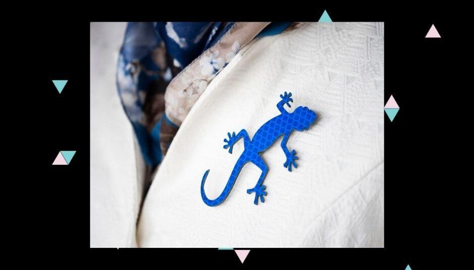 sisalik sinine mantlil